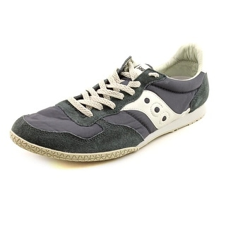 Saucony Bullet Round Toe Canvas Sneakers