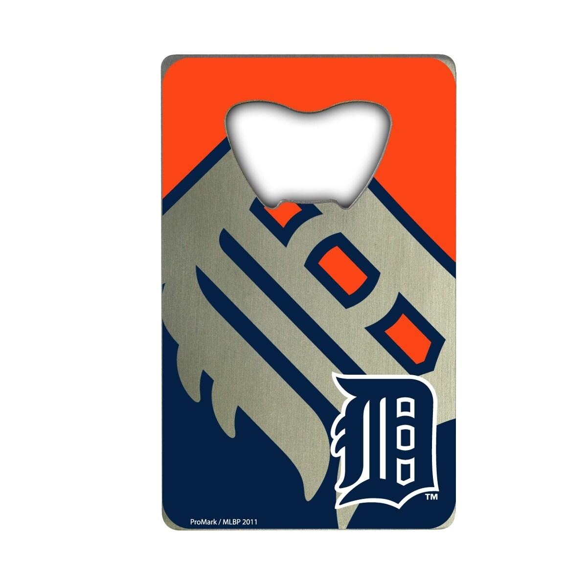 Shop Mlb Detroit Tigers Metal Credit Card Bottle Opener 2in X 3 25in Overstock 31748203