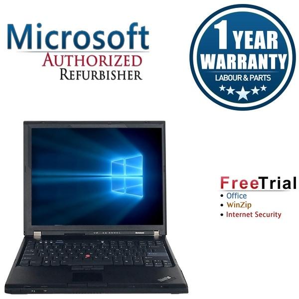 Refurbished Lenovo ThinkPad T61 141 Intel Core 2 Duo T7100 18GHz 4GB DDR2 160GB
