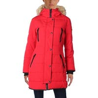 Guess Womens Parka Coat Winter Puffer