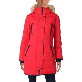 Guess Womens Parka Coat Winter Puffer