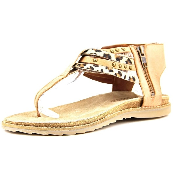 Matisse Porsha Women Open Toe Leather Tan Sandals