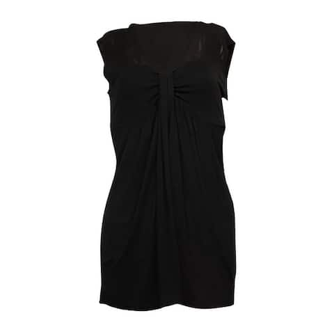 Miraclesuit Women's Knit Jersey Mesh Blouse