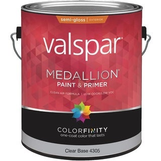 Valspar Ext S/G Clear Bs Paint