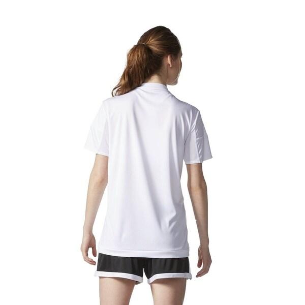 Adidas Women/'s MLS 15 Match Jersey T-Shirt Red//White