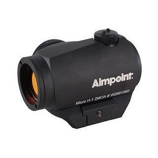 Aimpoint Micro H-1 2 MOA Red Dot Sight with Standard Mount