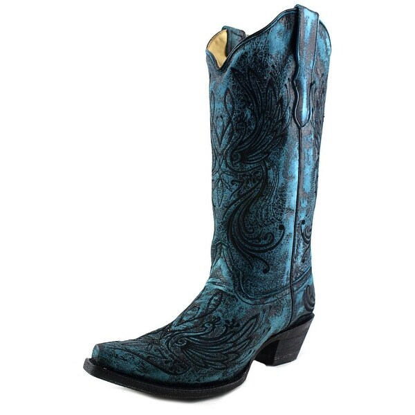 Corral E1025 Pointed Toe Leather Western Boot