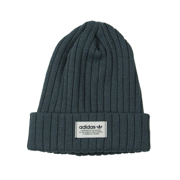 498de28d74193 Shop adidas Originals Mens Beanie Hat Knit Ribbed - O/S - Free Shipping On  Orders Over $45 - Overstock - 26879524