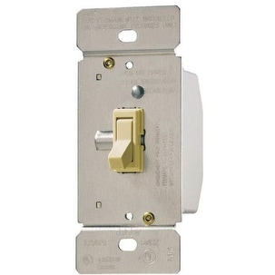 Cooper Wiring TI061-V-K Toggle Dimmer, Ivory
