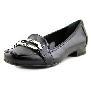 Alfani Alorra Women Round Toe Synthetic Black Loafer