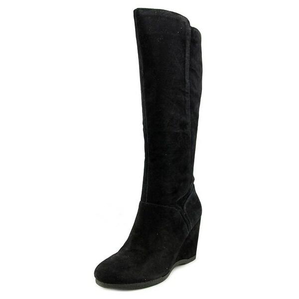Nine West Vienneo Women  Round Toe Suede  Knee High Boot