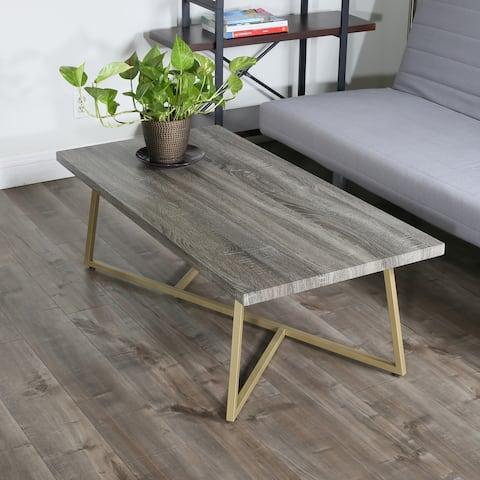 Carson Carrington Ystadium Rectangle Coffee Table