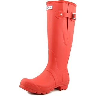 Hunter Original Adjustable Wellington Round Toe Synthetic Rain Boot
