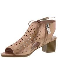 Kids Jessica Simpson Girls Bailee Zipper Ankle Strap Slide Sandals