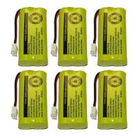 Replacement VTech 6010 Battery for 89-1326-00-00 / CPH-515D Battery Models (6 Pack)