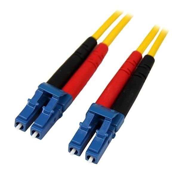 Startech - Smfiblclc1 1M Fiber Optic Lc/Lc Sm 9/125Nduplex Patch Cord Lszh