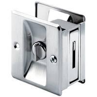 Prime Line 164159 Pocket Door Lock & Pull, Solid Brass