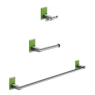 Nameeks MNE321 Gedy Bathroom Accessories Set - n/a