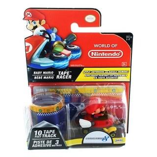 Nintendo Tape Racers Wave 2: Baby Mario w/ Baby Park Tape - Multi