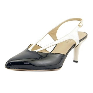 Amalfi By Rangoni Pattie   Pointed Toe Patent Leather  Slingback Heel