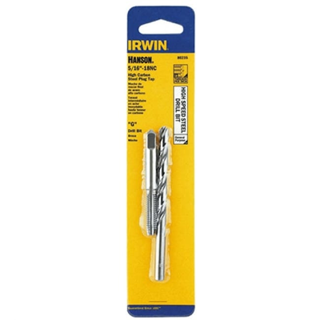 Irwin Tools 80235 Hanson 5/16-18 NC Tap And Letter F Drill Bit