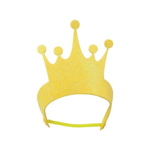 106-1891 darice foamies tiara glitter gold