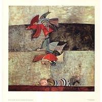 ''The Dream'' by Graciela Rodo Boulanger Latino Art Print (28.25 x 27.125 in.)