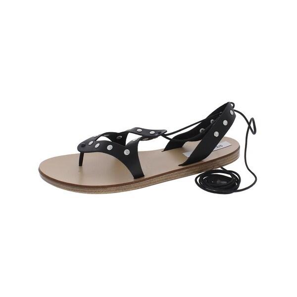 Steve Madden Womens Rosalind Flat Sandals Thong Open Toe - 11 medium (b,m)