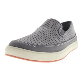 Ahnu Mens Leather Perforated Loafers - 8 medium (d)