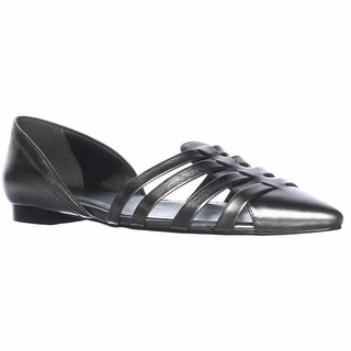 Cole Haan Jitney D'Orsay Loafer Flats - Chrome Armor