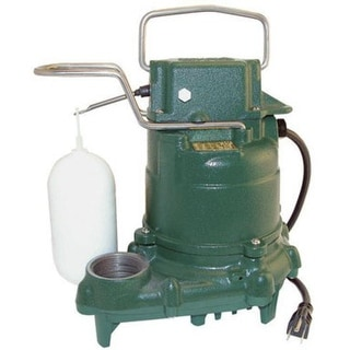 Zoeller 53-0001 M53 Mighty-mate Submersible Sump Pump, 1/3 Hp
