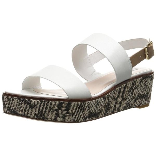 Cole Haan Womens CAMBRON Open Toe Casual Platform Sandals