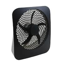 O2-Cool FD10002A Dual Power Portable Fan with AC Adapter, 10""