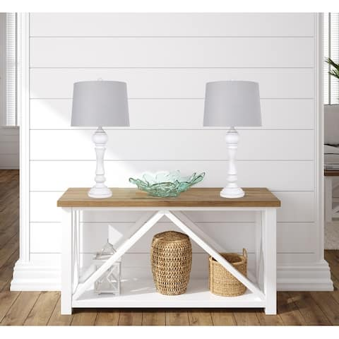 The Gray Barn Dinky Creek Polyresin Table Lamp - N/A