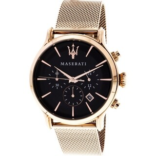 Link to Maserati Men's Epoca  Rose-Gold Stainless-Steel Quartz Dress Watch Similar Items in Men's Watches