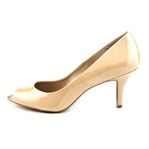 Alfani Sandi Womens Peep Toe Pumps Heels Shoes - 8