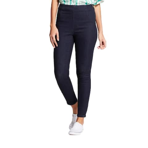 A New Day Women Skinny Denim Stretch Zipper Ankle Jegging Pants