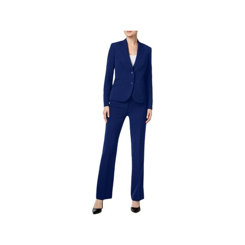 Anne Klein Womens Pant Suit 3PC Work