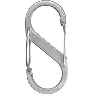 Nite Ize SB3-03-11 #3 Stainless Steel S-Biner Carabineer, Silver