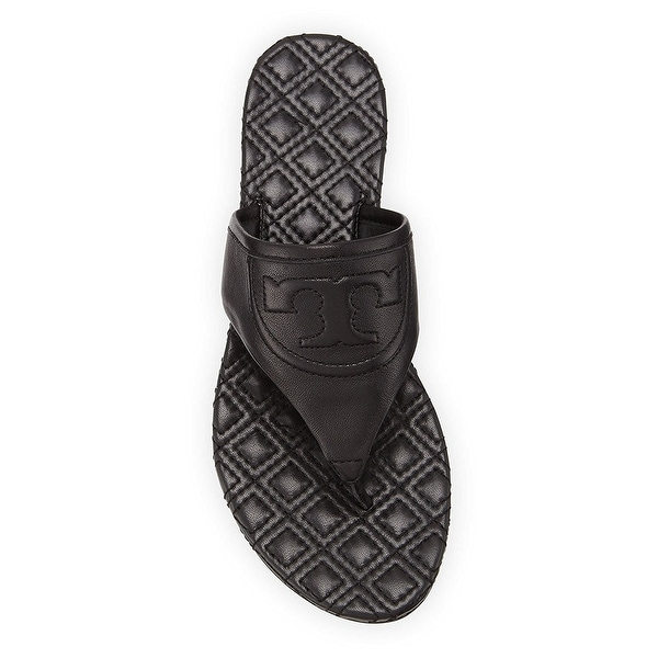 Tory Burch Fleming Leather Quilted Slip