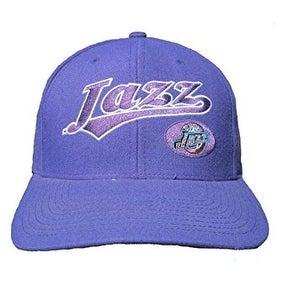 Utah Jazz NBA Twins Enterprise Snapback Cotton Hat Cap - Purple