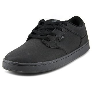 DVS Quentin Round Toe Leather Skate Shoe