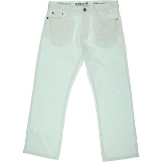 Ring Of Fire Mens Eastborne Ave Loose Fit Classic Rise Relaxed Jeans