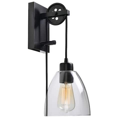 """Charley 1 Light Wall Sconce - 6"""" x 68"""""""
