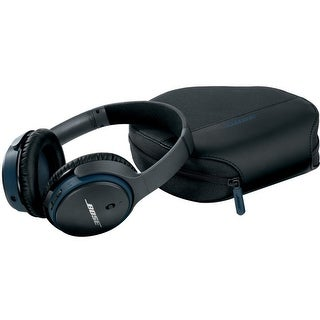 Bose SoundLink Around-ear Wireless Headphones II - Stereo - Black - Wired/Wireless - Bluetooth - 30 ft - Over-the-head - Binaura