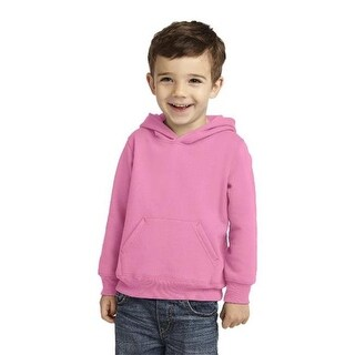 CAR78TH Toddler Pullover Hooded Sweatshirt, Candy Pink - 4