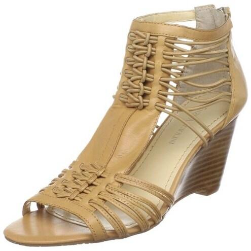 Enzo Angiolini Womens Hardley Open Toe Casual Slide Sandals