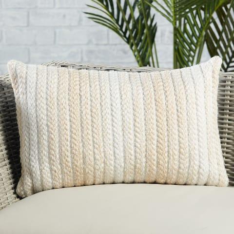 Austrel Indoor/ Outdoor Ombre Lumbar Pillow