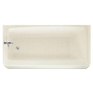 """Swanstone BT3060L Veritek 60"""" Three Wall Alcove Soaking Tub with Left Hand Drain 30"""" D x 60"""" W"""