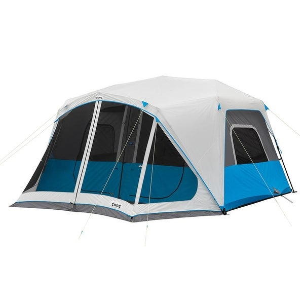 Shop Core Lighted 10 Person Instant Cabin Tent With Screen